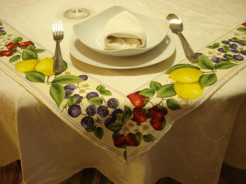 Centrotavola quadrati - Tovaglia tavolo quadrato ...