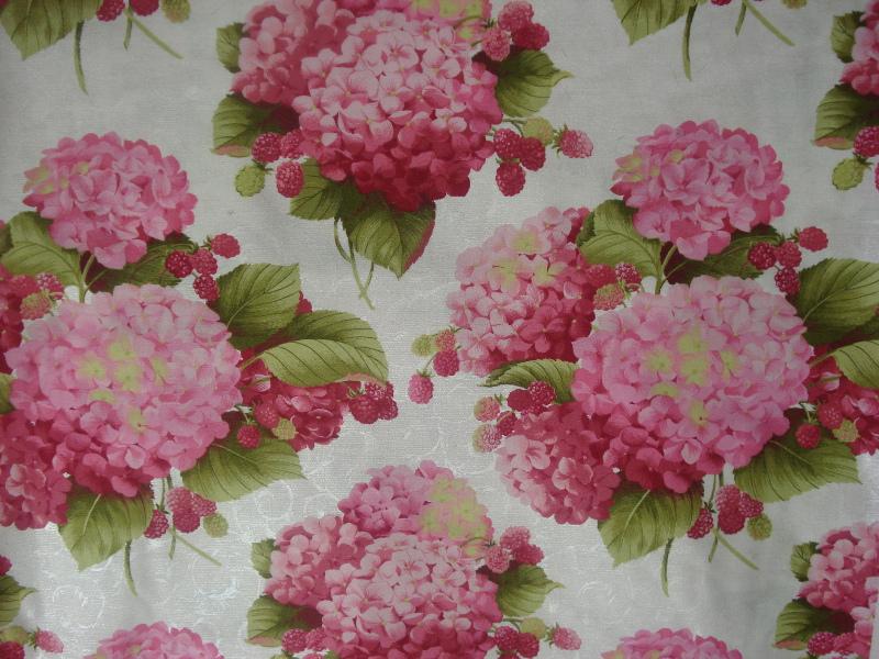 Quadri Con Ortensie : Tessuti fiori con le mani di nadia filipponi