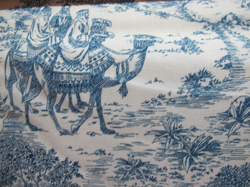Christmas toile natavity 1661 B
